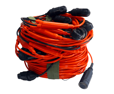 Submarine Hydrophone Cable Streamer(3/12/24/48 Channel)