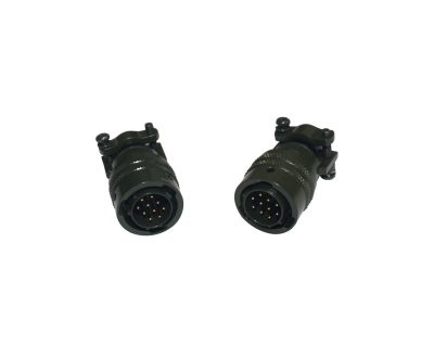 12-10P End Connector(MIL-C-26482)