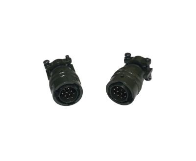 12-10P End Connector(MIL-C-26482)